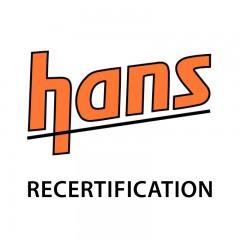 HANS Device SFI Recertification