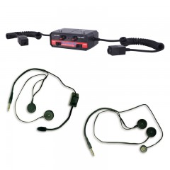 Terraphone Professional Amp and Headset Package
